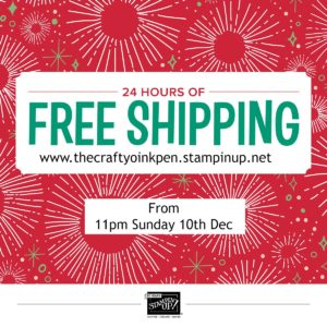 UK Independent Stampin' Up! Demonstrator, 24 Hour FREE Shipping