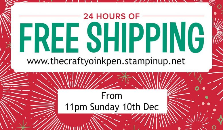 FREE Postage on your Christmas Shopping for 24 hours