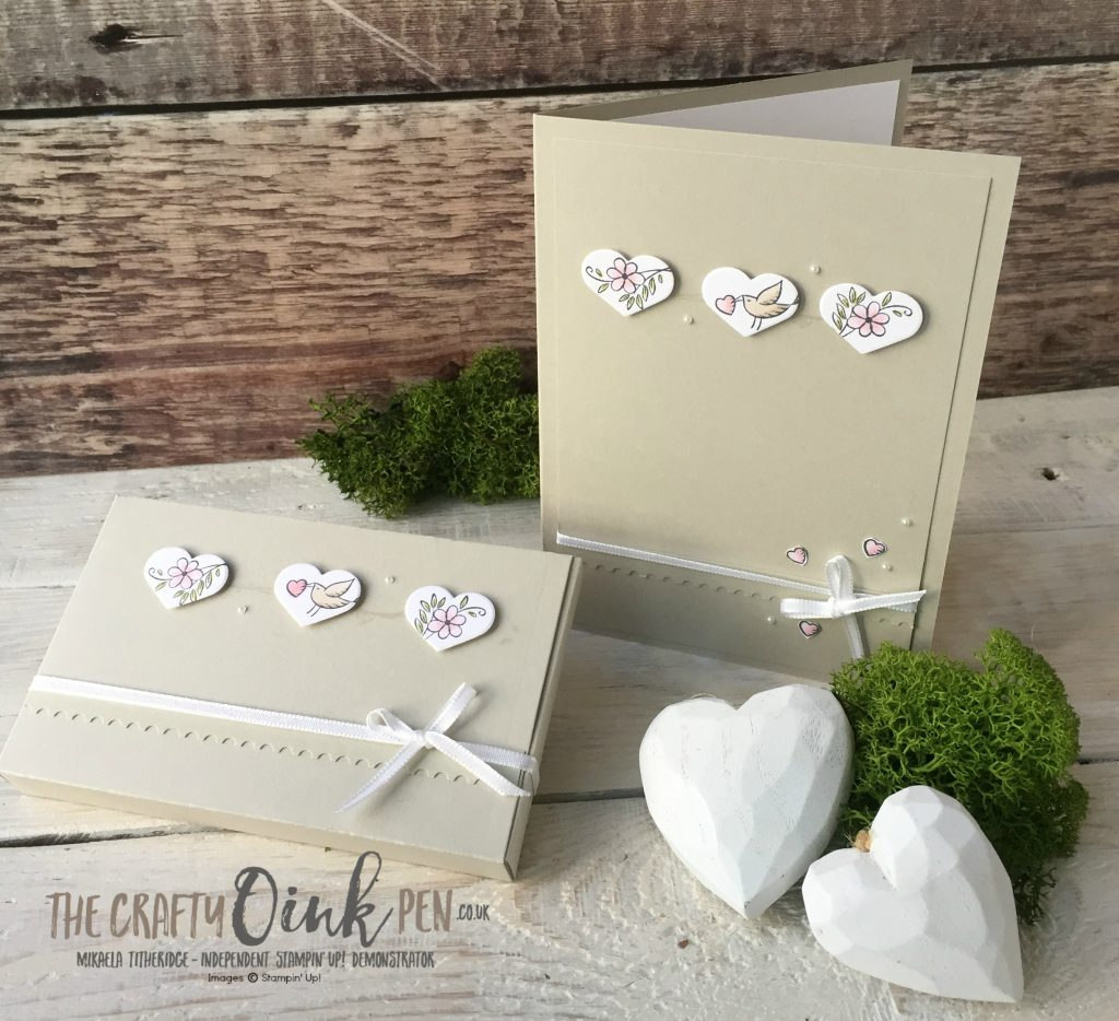 Lets Get Hopping Small Stamps by Mikaela Titheridge, The Crafty oINK Pen, UK Stampin' Up! Demo