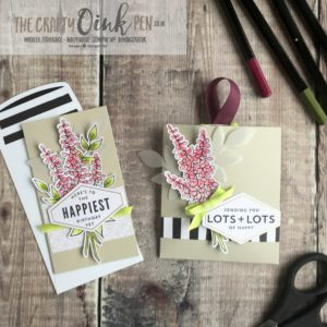 Lots of Happy Card kit by Mikaela Titheridge, The Crafty oINK Pen