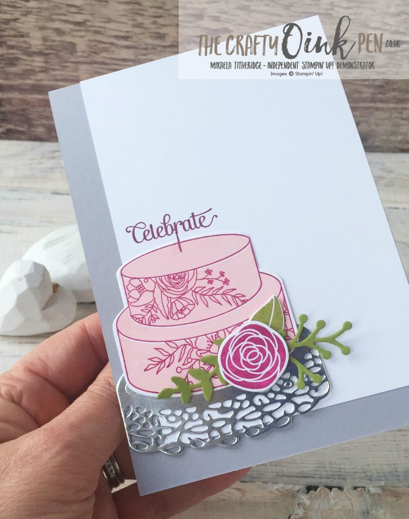 Sweet Soiree Set and Mini Gable Boxes from the 2018 Spring/Summer Catalogue by Mikaela Titheridge, Independent Stampin' Up! Demonstrator, The Crafty oINK Pen