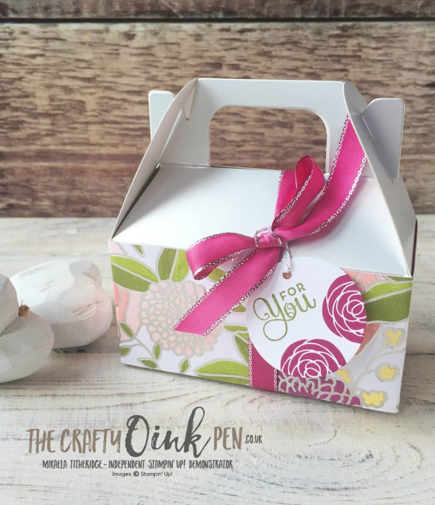 Sweet Soiree Set from the 2018 Spring/Summer Catalogue by Mikaela Titheridge, Independent Stampin' Up! Demonstrator, The Crafty oINK Pen