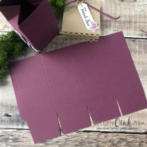 Stamp 'N Hop Petal Palette Bird Box Tutorial by Mikaela Titheridge, The Crafty oINK Pen, #6UK Stampin' Up! Demonstrator. Supplies available through my online store 24/7