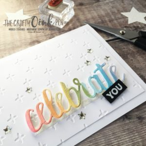 Celebrate Amazing You with this Blog Hop of the Alaska Achieversby Mikaela Titheridge, #6UK Independent Stampin' Up! Demonstrator, The Crafty oINK Pen. Supplies available through my online store 24/7