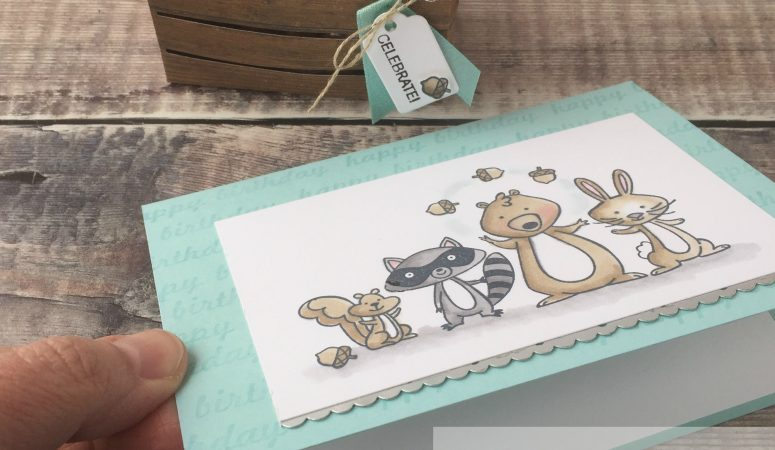We Must Celebrate with Stampin' Up! Products by The Crafty oINK Pen