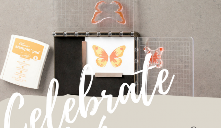 Celebrate with me and WIN a Stampin' Up! Stamparatus