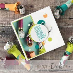 Picture Perfect Birthday Gift Box by Mikaela Titheridge, #6UK Independent Stampin' Up! Demonstrator, The Crafty oINK Pen. Supplies available through my online store 24/7