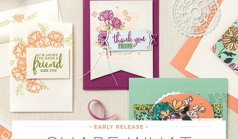 Share What You Love with Stampin' Up! Products