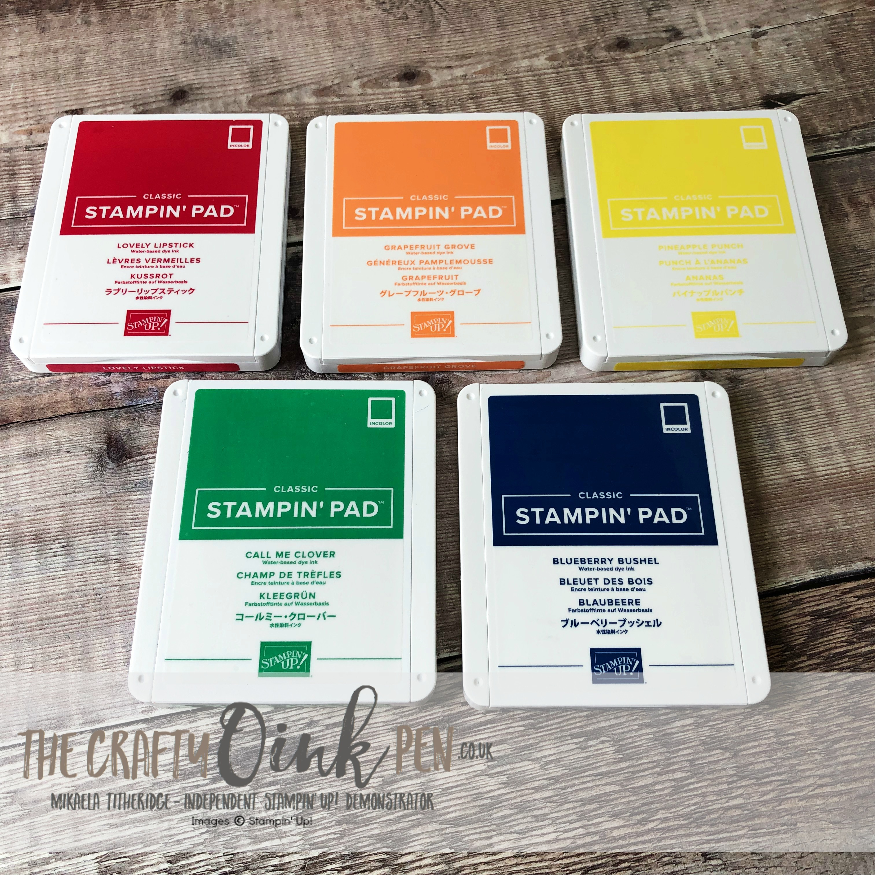 Stampin' Up! Pre Order Products New In Colors 2018-2020 available from Mikaela Titheridge, #6UK Independent Stampin' Up! Demonstrator, The Crafty oINK Pen. Supplies available through my online store 24/7