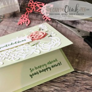 Springtime Colours using the Springtime Impressions Thinlits and Abstract Impressions bundle by Mikaela Titheridge, #6UK Independent Stampin' Up! Demonstrator, The Crafty oINK Pen. Supplies available through my online store 24/7