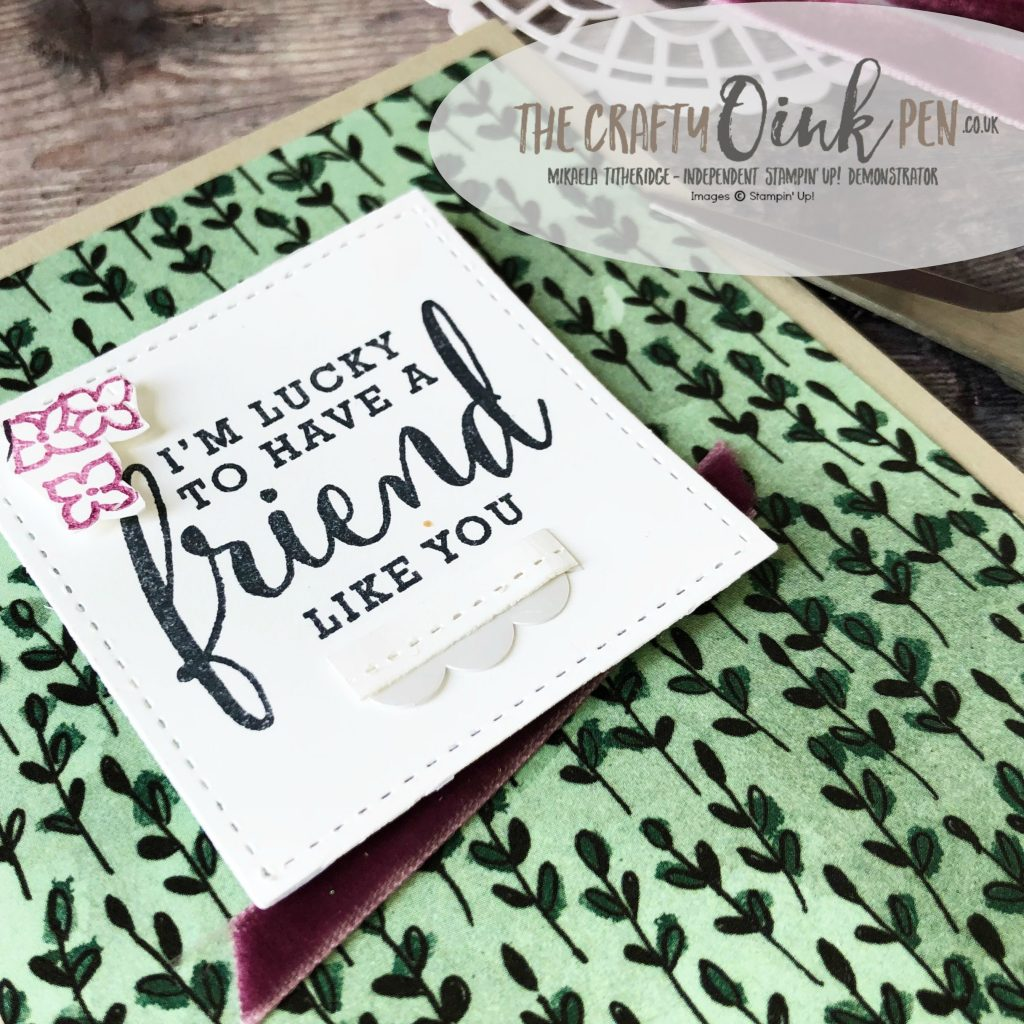Share What You Love Bundles for the Alaska Achievers Blog Hop close up by Mikaela Titheridge, #6UK Independent Stampin' Up! Demonstrator, The Crafty oINK Pen. Supplies available through my online store 24/7