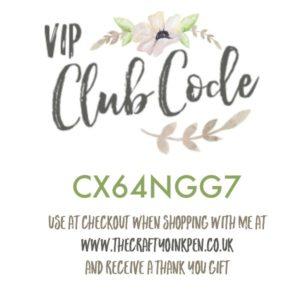 June Club Code Mikaela Titheridge, The Crafty oINK Pen. UK Demo