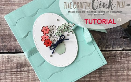 Varied Vases Note Card Holder Tutorial