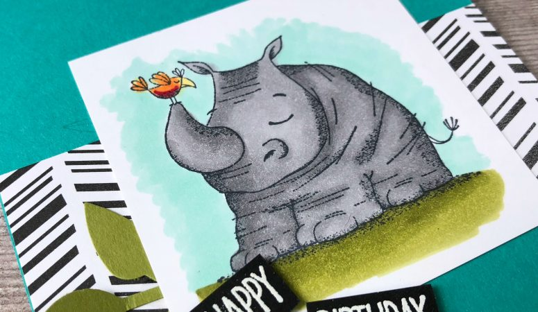 Stamping Creative Blog Hop – Animal Outing Masculine Card