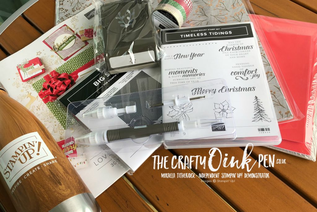 Christmas Catalogue Giveaways on the Alaskan Incentive Trip by Mikaela Titheridge, #6UK Independent Stampin' Up! Demonstrator, The Crafty oINK Pen. Supplies available through my online store 24/7