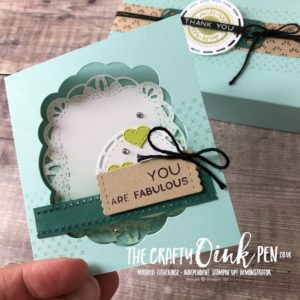 Stitched All Around Bundle from the New Annual Catalogue featured by Mikaela Titheridge, #6UK Independent Stampin' Up! Demonstrator, The Crafty oINK Pen. Supplies available through my online store 24/7