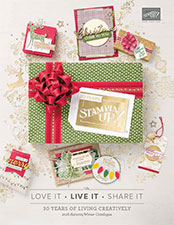 Autumn/Winter Seasonal Catalogue. Christmas 2018. Stampin' Up! Products available through Mikaela Titheridge, #6 UK Independent Stampin' Up! Demonstrator, The Crafty oINK Pen. Shop online 24/7