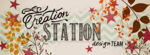 Creation Station Design Team member Mikaela Titheridge, UK Independent Stampin' Up! Demonstrator, The Crafty oINK Pen