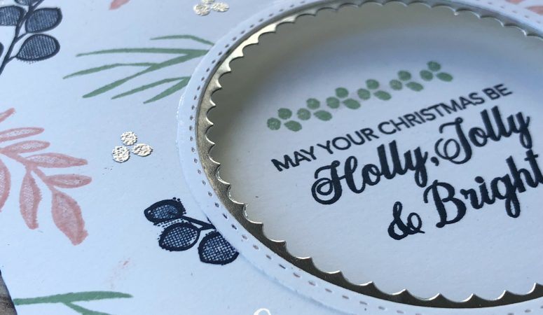 Stampin' Creative Blog Hop – Non Traditional Festive