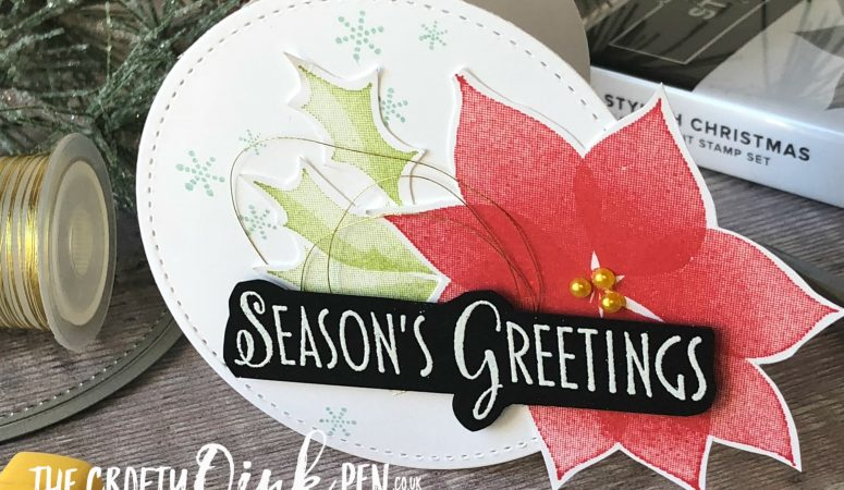Let's Get Hopping, #13 Stylish Christmas Circle Card
