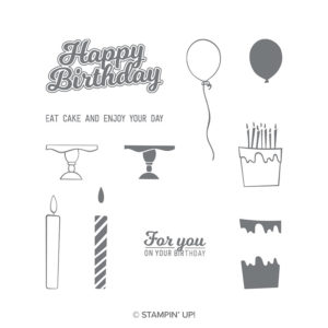 Blow out the Candles to celebrate Stampin' Up!s 30th Birthday. 15% discount on this set on 23rd October. Available through Mikaela Titheridge, Independent Stampin' Up! Demonstrator, The Crafty oINK Pen