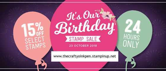 30th Birthday Celebrations with 15% discount