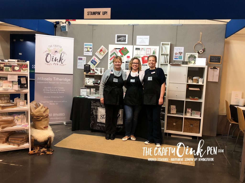 Crafting Live, Peterborough Team with Mikaela Titheridge, #6UK Independent Stampin' Up! Demonstrator, The Crafty oINK Pen. Supplies available through my online store 24/7