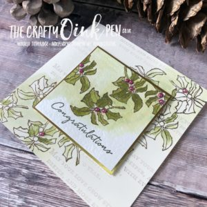 Layers of Leaves using Timeless Tidings and Floral Phrases by Mikaela Titheridge, #6UK Independent Stampin' Up! Demonstrator, The Crafty oINK Pen. Supplies available through my online store 24/7
