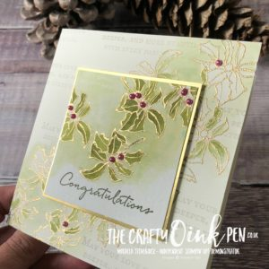 Layers of Leaves Blog Hop using Timeless Tidings and Floral Phrases by Mikaela Titheridge, #6UK Independent Stampin' Up! Demonstrator, The Crafty oINK Pen. Supplies available through my online store 24/7