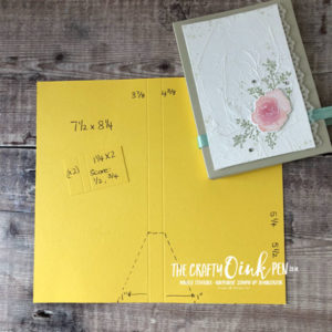 Favourites of the Season, Note Card Wallet Tutorial by Mikaela Titheridge, #6UK Independent Stampin' Up! Demonstrator, The Crafty oINK Pen. Supplies available through my online store 24/7