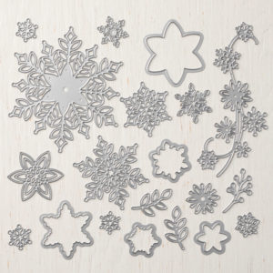 Snowflake Showcase Suite. Limited Edition products by Stampin' Up! for November 2018. Available through Mikaela Titheridge, UK Independent Stampin' Up! Demonstrator. Shop through my online store 24/7