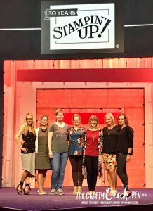 OnStage Live, Orlando Artisan announcement by Mikaela Titheridge, UK Independent Stampin' Up! Demonstrator, The Crafty oINK Pen. Supplies available through my online store 24/7