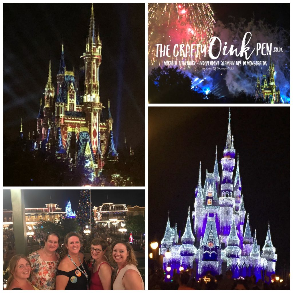 30th Celebrations onstage live Orlando magic kingdom by Mikaela Titheridge, UK Independent Stampin' Up! Demonstrator, The Crafty oINK Pen. Supplies available through my online store 24/7