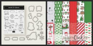 Santas Workshop Suite available from Mikaela Titheridge, Independent Stampin' Up! Demonstrator, The Crafty oINK Pen. Shop online 24/7 www.thecraftyoinkpen.co.uk/shop