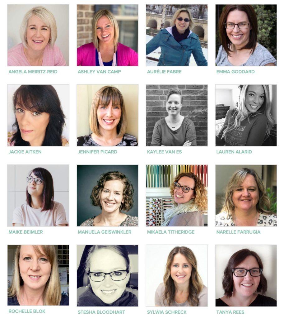 Stampin' Up! Artisan Design Team 2019 Team Members