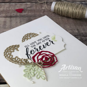 Artisan Design Team Blog Hop, Forever Lovely Cards and Gift packaging by Mikaela Titheridge, UK Independent Stampin' Up! Demonstrator, The Crafty oINK Pen. Supplies available through my online store 24/7