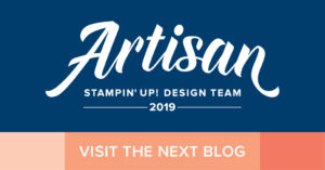 Stampin' Up! Artisan Design Team 2019 - Mikaela Titheridge, Independent Stampin' Up! Demonstrator, The Crafty oINK Pen. Shop online 24/7 www.thecraftyoinkpen.co.uk/shop
