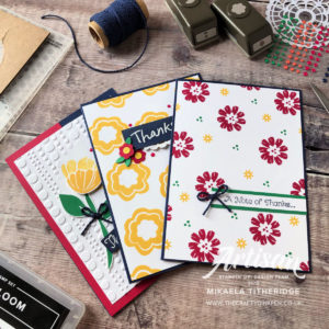 Spring/Summer Bloom by Bloom from the Happiness Blooms suite for the New to You hop by Mikaela Titheridge, UK Independent Stampin' Up! Demonstrator, The Crafty oINK Pen. Supplies available through my online store 24/7