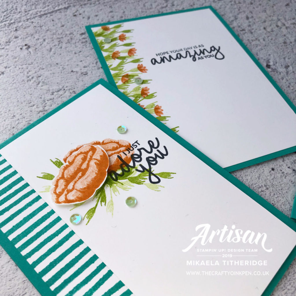 Simple Stamping for the Stampin' Creation Blog Hop. Beginners Stamping using Incredible Like You by Artisan Design Team Member 2019, Mikaela Titheridge, UK Independent Stampin' Up! Demonstrator, The Crafty oINK Pen. Supplies available through my online store 24/7