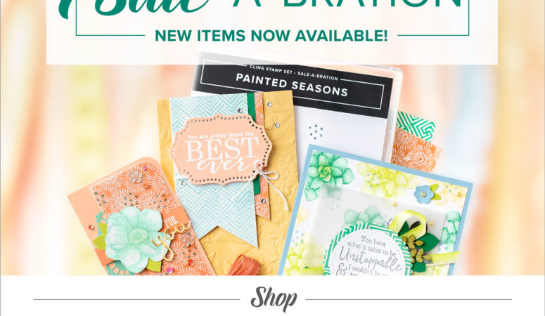 More FREE Stampin' Up! Products available