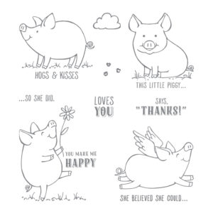 2019 the year of the Pig and This Little Piggy is ready for a class hosted by Artisan Design Team Member 2019, Mikaela Titheridge, UK Independent Stampin' Up! Demonstrator, The Crafty oINK Pen. Supplies available through my online store 24/7