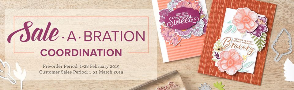 Sales-a-Bration Coordination by Artisan Design Team Member 2019, Mikaela Titheridge, UK Independent Stampin' Up! Demonstrator, The Crafty oINK Pen. Supplies available through my online store 24/7