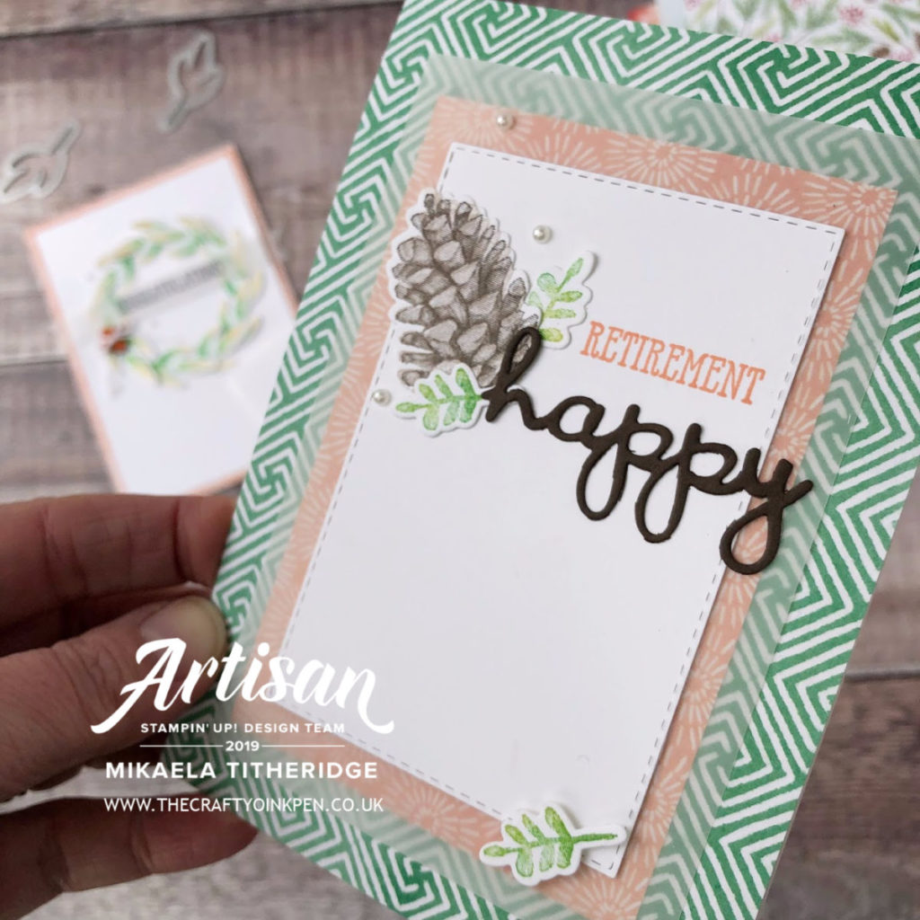 Sale-a-Bration Coordination, Painted Seasons by Artisan Design Team Member 2019, Mikaela Titheridge, UK Independent Stampin' Up! Demonstrator, The Crafty oINK Pen. Supplies available through my online store 24/7