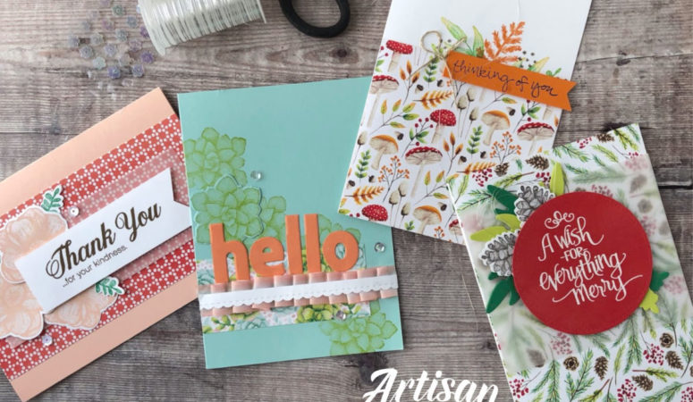 Sale-a-Bration Coordination – FREE Painted Seasons
