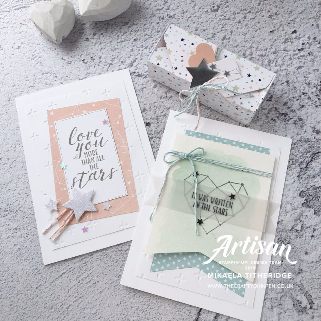 Little Twinkle to Share What you Love by Artisan Design Team Member 2019, Mikaela Titheridge, UK Independent Stampin' Up! Demonstrator, The Crafty oINK Pen. Supplies available through my online store 24/7