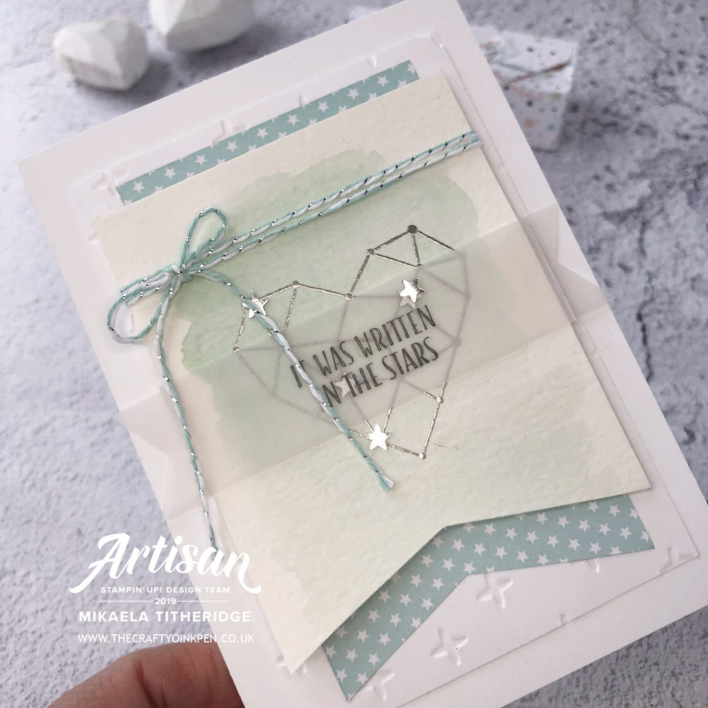Share What you Love with Little Twinkle Stars by Artisan Design Team Member 2019, Mikaela Titheridge, UK Independent Stampin' Up! Demonstrator, The Crafty oINK Pen. Supplies available through my online store 24/7