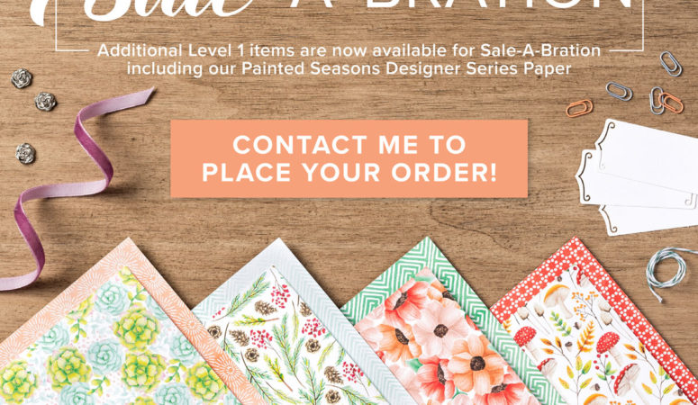 Friday Freebies from Stampin' Up!