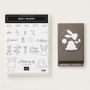 Best Bunny Bundle available through Artisan Design Team Member 2019, Mikaela Titheridge, UK Independent Stampin' Up! Demonstrator, The Crafty oINK Pen. Supplies available through my online store 24/7