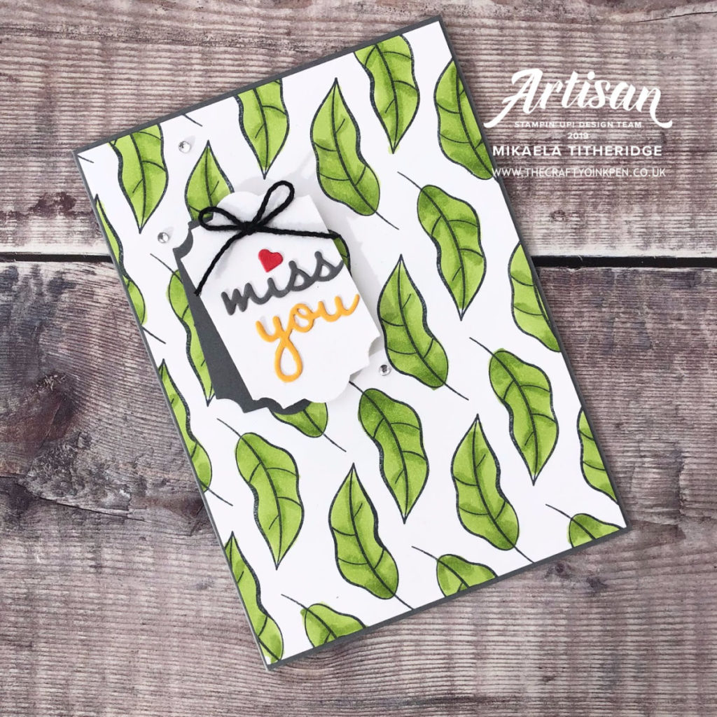 Lets Get Hopping CASE Yourself using Humming Along by Artisan Design Team Member 2019, Mikaela Titheridge, UK Independent Stampin' Up! Demonstrator, The Crafty oINK Pen. Supplies available through my online store 24/7