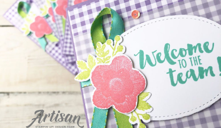 Creation Station Blog Hop – Going Gingham Style